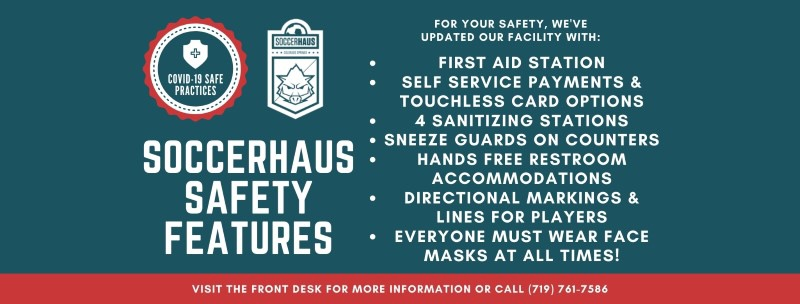 soccerhaus safety rules